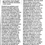 Haarlems Dagblad 26 november 2012