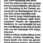 Haarlems Dagblad 18 november 2013