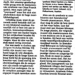 Haarlems Dagblad 15 mei 2009