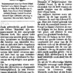 Haarlems Dagblad 24 november 2001